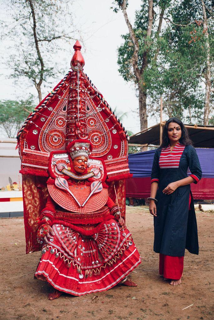 Chaanthu` Theyyam Kurta