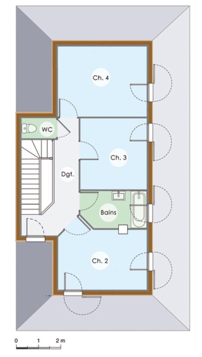 1000 id es sur le th me plans tage chambre sur pinterest plancher de chamb - Maison et travaux salle de bain ...