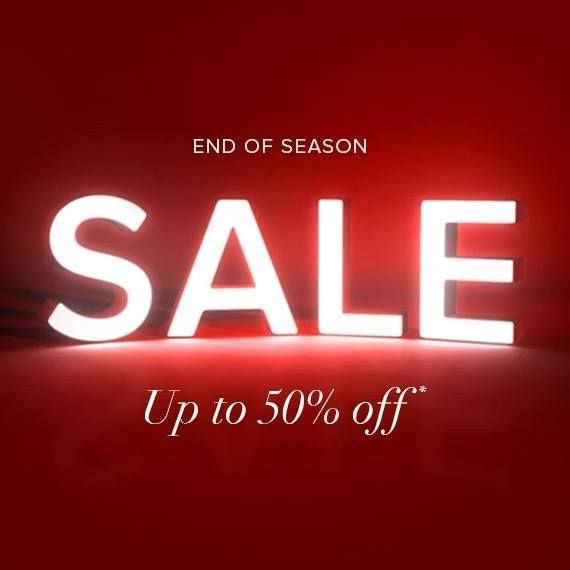 End of Season SALE Up to 50% Off thousands of styles.