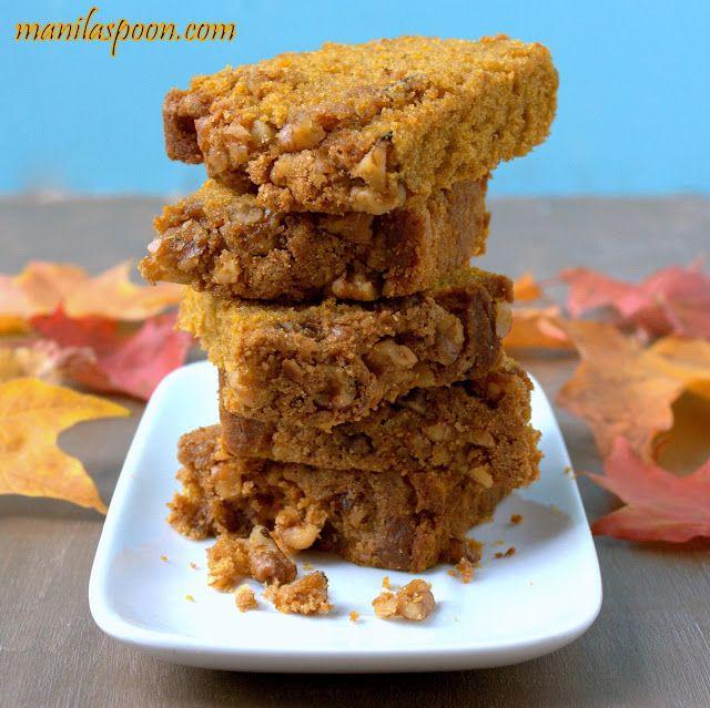Manila Spoon: Pumpkin Praline Bread | Food...Bread | Pinterest