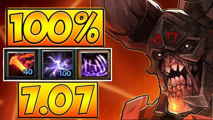100% SPLASH 25 LEVEL DOOM 7.07 DOTA 2