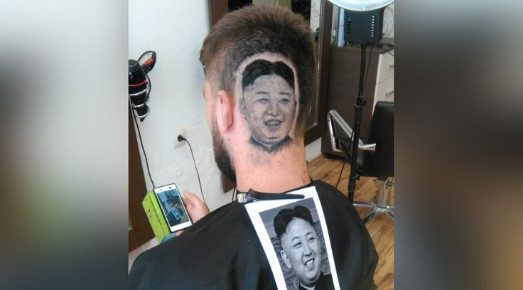 Trim Jong-un! Barber shaves image of NorthKorea leader