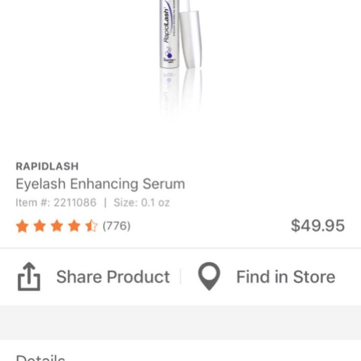 Rapid lash eyelash serum  | @giftryapp