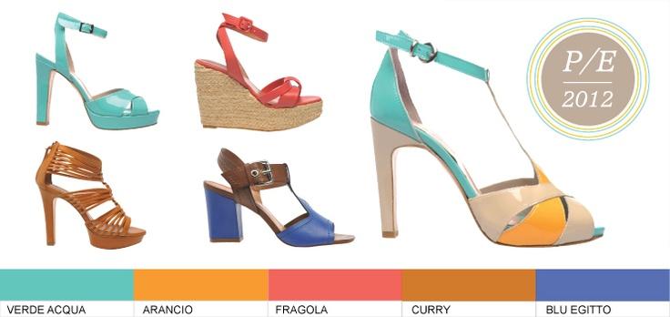 Il contrasto di colore domina nelle scarpe Four Stroke, il sandalo rosso Clergerie rimanda a sfumature di frutta estiva e Vicenza riprende linee classiche.  http://www.fourstrokegroup.com/shop