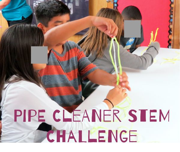 "The Pipecleaner (aka ""Fuzzy Sticks"") Challenge is one of my favorite STEM activities to introduce students to STEM learning. This is a fun, inexpensive, and engaging challenge that can be tailored to different ages, settings, and time-frames. This challenge is also an excellent team icebreaker."