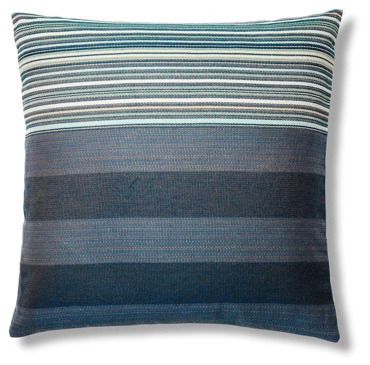 Stripe Mix 24x24 Sunbrella Pillow