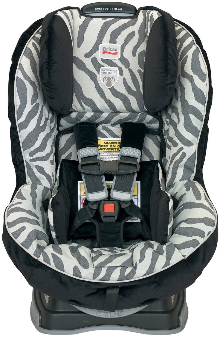 Britax boulevard 70 convertible car seat zebra ez buckle system retains the harness buckle in a forward position and prevents the child from sitting on