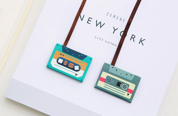 CaribouMilk Cassette Tape Magnetic Bookmarks