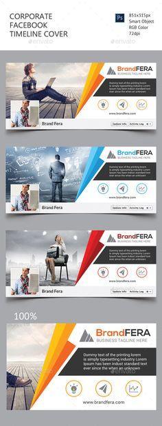 "Corporate Facebook Timeline Cover Template PSD <a class=""pintag"" href=""/explore/design/"" title=""#design explore Pinterest"">#design</a> Download: <a href=""http://graphicriver.net/item/corporate-facebook-timeline-cover/11452438?ref=ksioks"" rel=""nofollow"" target=""_blank"">graphicriver.net/...</a>"