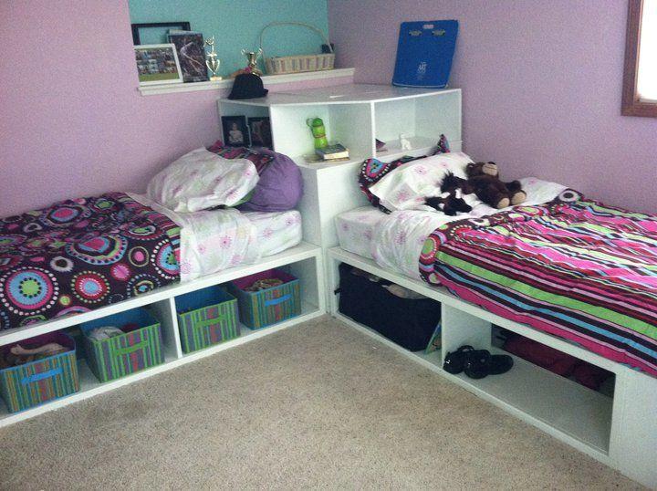 Best Storage Beds Twin With Corner Unit Ana White Diy 400 x 300