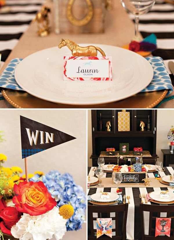 FREE Kentucky Derby® Party Printables - Garden Party // Hostess with the Mostess®