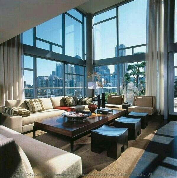 Modern Penthouse Design Overlooking The Minneapolis Lakes: 17 Best Images About MANSIONS IN THE SKY On Pinterest