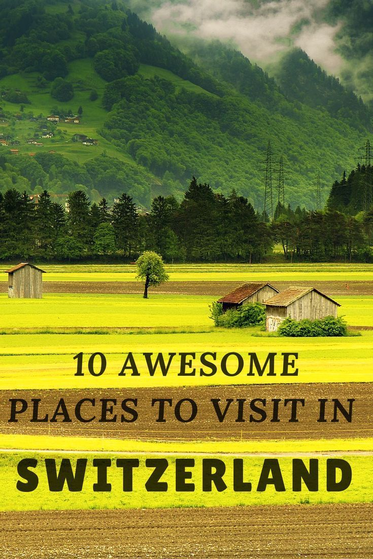 There are so many beautiful places to visit in the Switzerland. So we have made a list for you with 10 of the best places to visit in the Switzerland.   #travelswitzerland #backpackingswitzerland