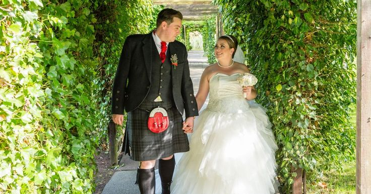 Blantyre couple Cara-Tres and Kevin tie the knot in lavish ceremony at St Joseph's Chapel followed by a recetion at Blantyre Miner's Welfare.