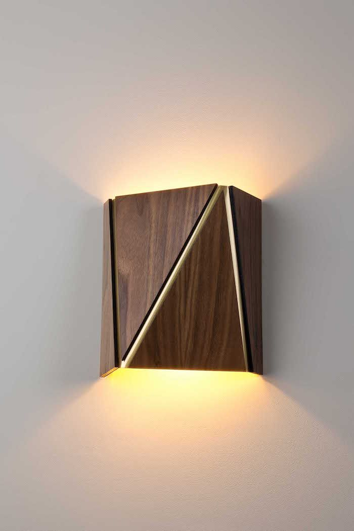 115 best modern wall lights images on pinterest for Wooden lighting ideas
