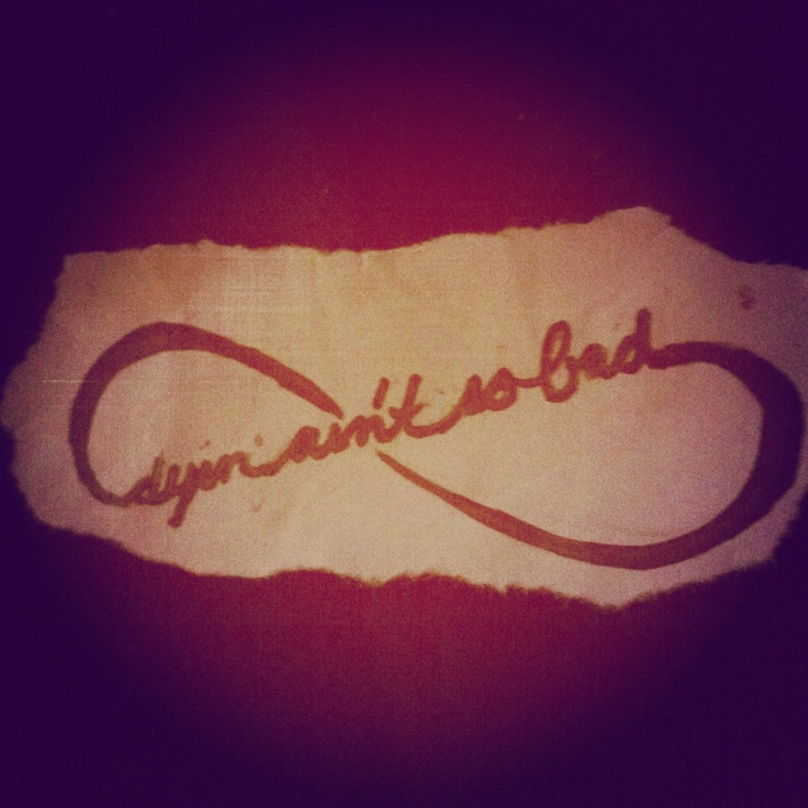 Bonnie And Clyde Tattoo: My Tattoo Design That Has A Quote From Bonnie And Clyde In It
