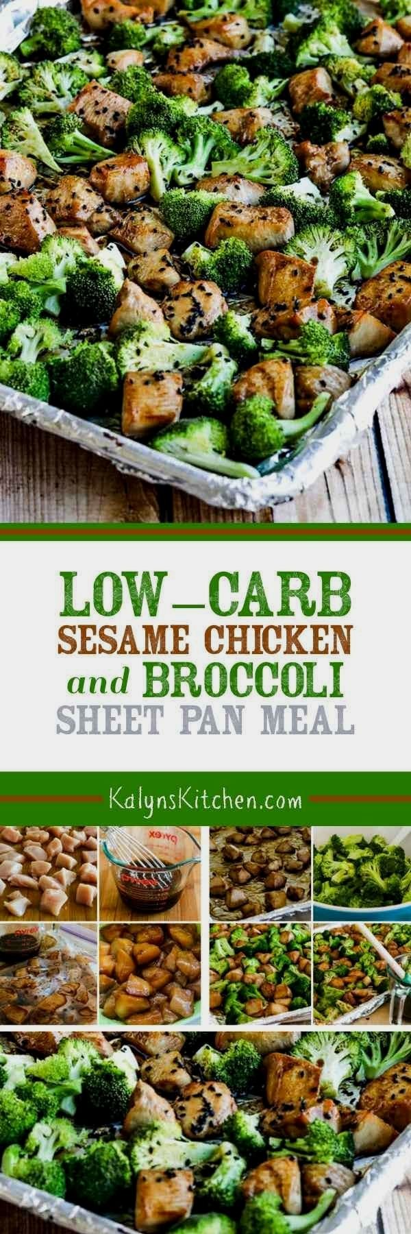 Sesame Chicken and Broccoli Sheet Pan Meal is a quick and easy dinner