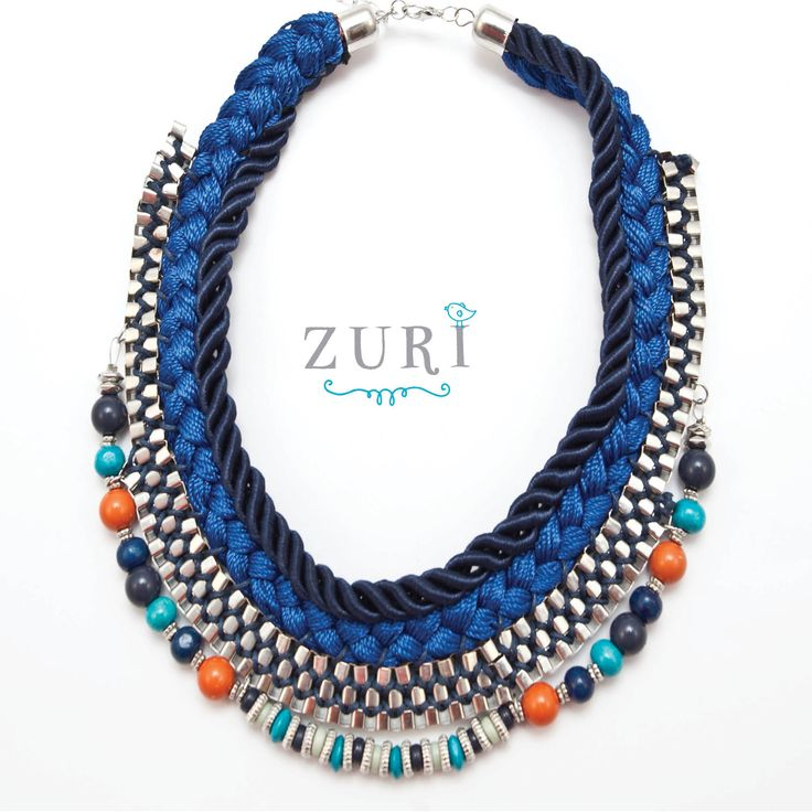 MAKE A STATEMENT:  Woven Necklace @ R290.00