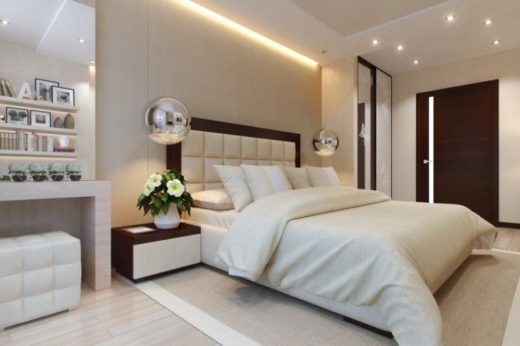 Glorious Brilliant Bedroom Design Inspirations With Beautiful Bedroom Ceiling Lighting That So Amazing From The Small Circle Lamps And The Line Lighting On The Corner Ceiling The Special Of The Brilliant Bedroom Design Inspirations Bedroom