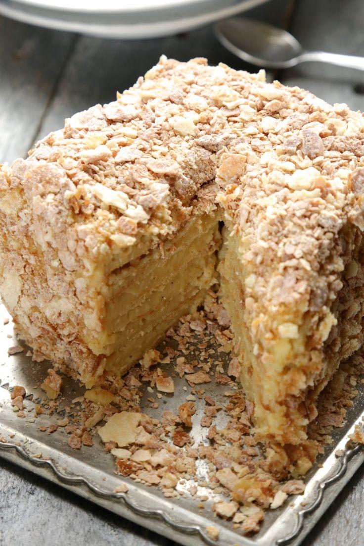 Napoleon , gâteau russe