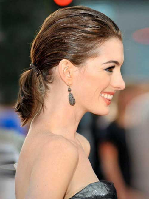 20 New Ways to Wear a Ponytail - Best Celebrity Ponytails ...