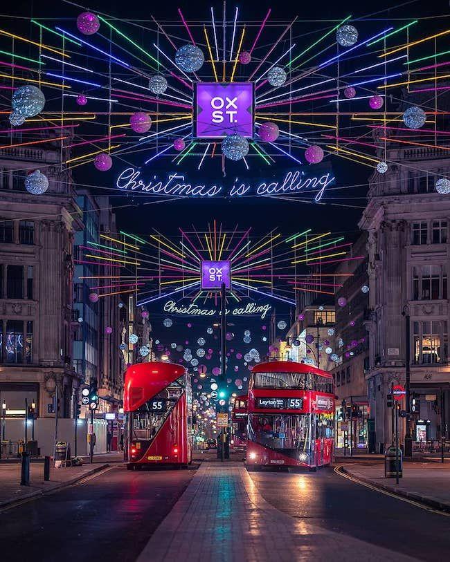 Christmas Ideas In London 2019 London Christmas Romantic Places Oxford Street London