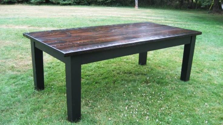 Simple HERITAGE HARVEST TABLE Harvest table, Table