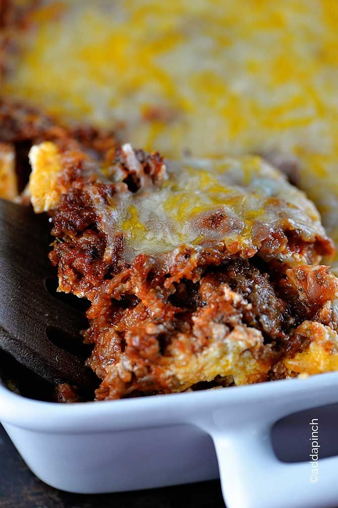 This lasagna recipe is meaty, cheesy, and so delicious. It's been named the best lasagna every time I've served it! A definite family favorite!