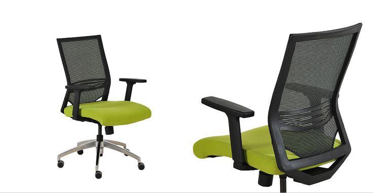 Birourile mici cu pereți colorați, ceasuri din vinil pe pereți și tapet în dungi sunt spațiile care se potrivesc cel mai bine cu scaunul Jasper. Inspiră veselie și creativitate și se poate adapta ușor în cadrul biroului vostru, îmbrăcând mai multe culori, portocaliu, roșu, verde sau negru.