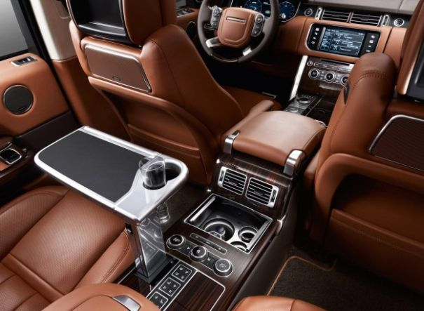 Here S What You Get When Pay For The Top Of Line Range Rover Autobiography Dream Rides Road Beauties Interior Luxury Cars