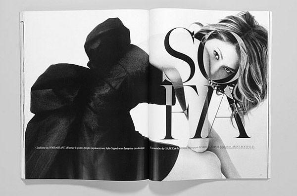 Sofia. creative by Fabien Baron, Vogue Paris