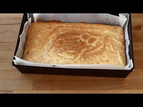 Pandișpan – blat de tort – cu unt, rețetă video | Retete ca la mama