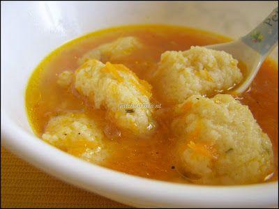 Recepty z Indie: Mrkvova polievka s knedlickami