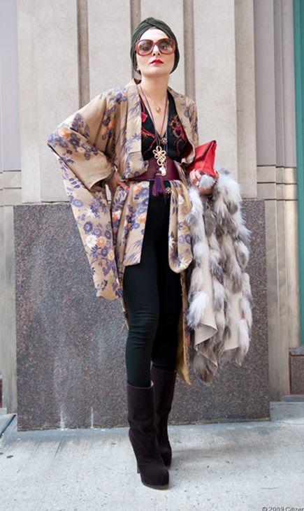 More haori fashion.