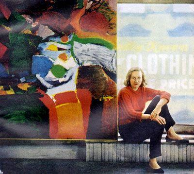 Grace Hartigan - 1922-2008 - Peintre expressionniste abstraite américaine. Reconnaissance internationale.