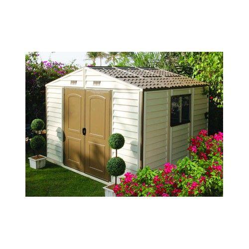Cet abri de jardin résine est idéal pour stocker votre matériel et même les engins moteurs grâce à sa double ouverture.