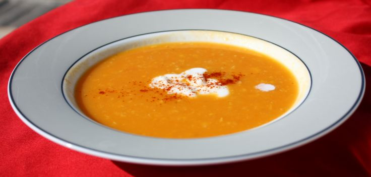 Sweet Potato, Carrot and Corn Soup Recipe