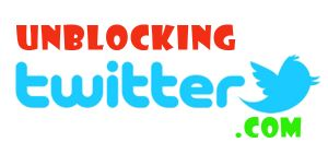 How to unblocking twitter
