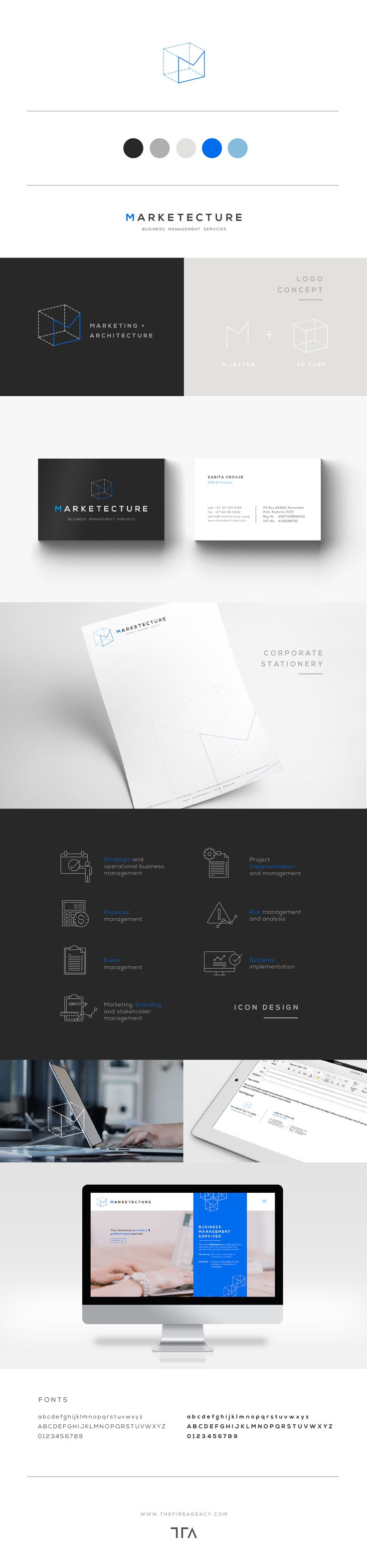 Branding for a Business Management Solutions company.