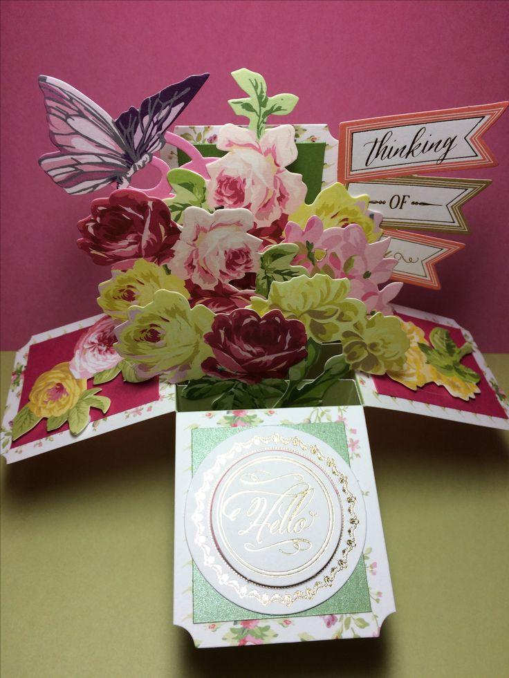 Made using Anna Griffin Window Box card kit