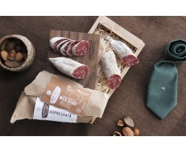 For Dad?Boar Salami Sounds, Gift, Food, Cure Meat, Delicious, Dads, Wild Boar, Business Ideas, Creminelli