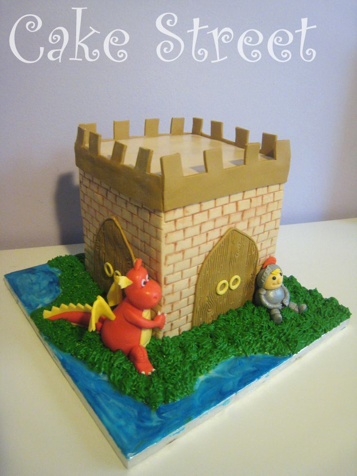 Castle Tower Cake!