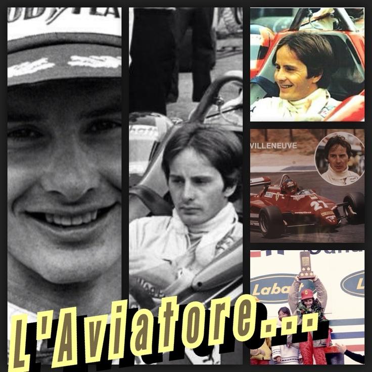 Gilles Villeneuve...l'Aviatore!