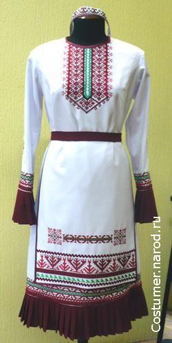Марийский национальный костюм костюм на картинках