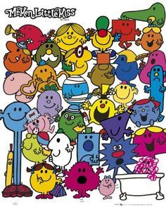 mr. men printables - Google Search