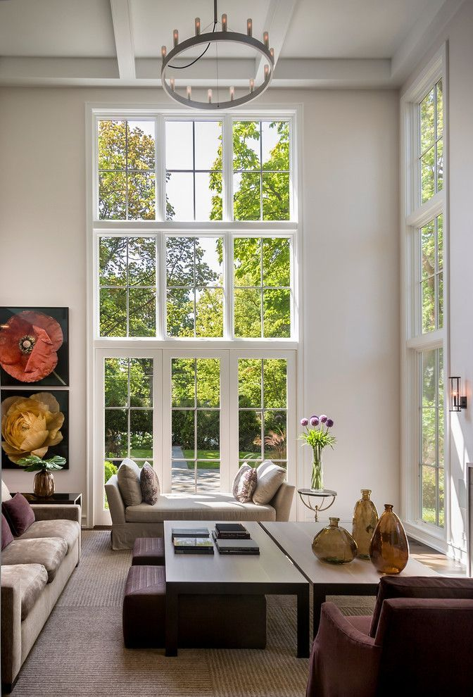 Стильный интерьер картинки окно