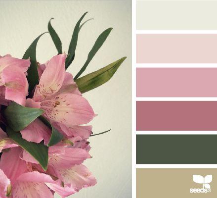 tonalidades flora