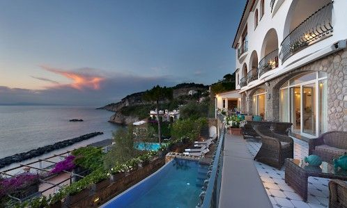 Villa Lika, is an elegant three-story waterfront property, built only 400 meters from the beach.
