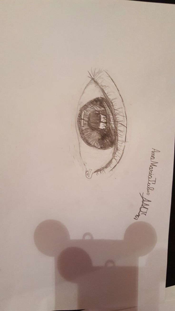 Drawing eye by me