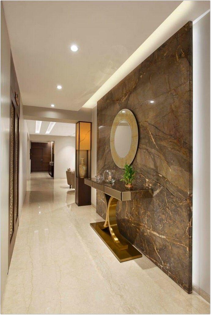 45 Refreshing Creative Small Entryway Decor Ideas To Interior Decor Of Your Dream House In 2020 Home Entrance Decor Lobby Interior Design Luxury Living Room Design